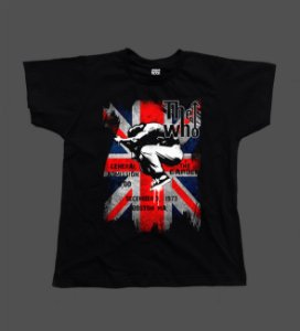 Camiseta - Babylook - The Who - Flag