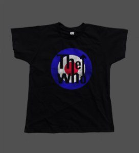 Camiseta - Babylook - The Who Logo