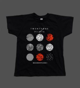 Camiseta - Babylook - Twenty One Pilots