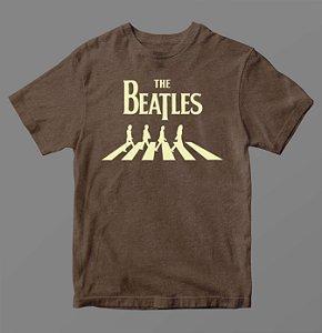 Camiseta - Especial - Beatles Marrom