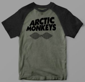 Camiseta - Arctic Monkeys - Raglan