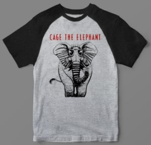 Camiseta - Cage The Elephant