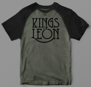 Camiseta - Kings of Leon - Raglan