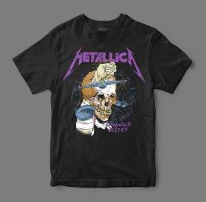 Camiseta Oficial - Metallica - Damaged Justice
