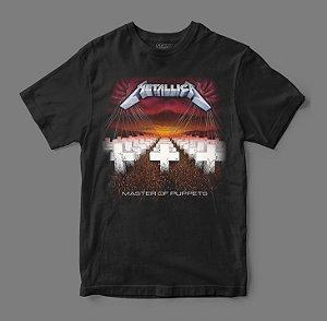 Camiseta Oficial - Metallica - Master of Puppets