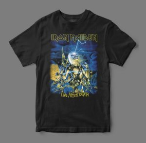 Camiseta Oficial - Iron Maiden - Live After Death
