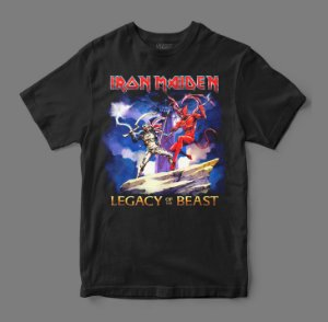 Camiseta Oficial - Iron Maiden - Legacy of the Beast