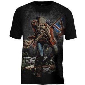 Camiseta Oficial - Iron Maiden - Premium - The Trooper