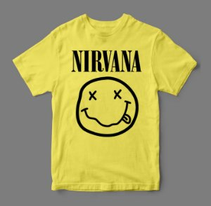 Camiseta - Nirvana Smile