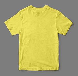 Camiseta Lisa -  Amarela