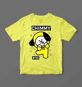 Camiseta - Babylook - BTS - BT21 - Chimmy