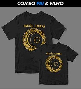 Combo Pai & Filho - Camiseta - Legião Urbana - Logo