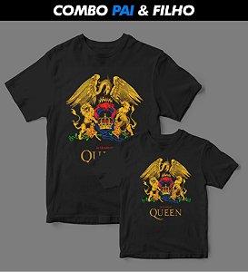 Combo Pai & Filho - Camiseta - Queen Tour