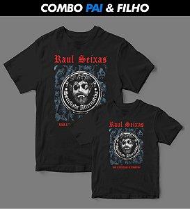 Combo Pai & Filho - Camiseta - Raul Seixas