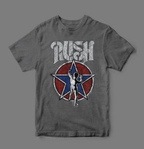 Camiseta Oficial - Estonada- Rush - Starman