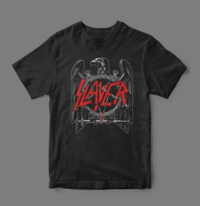 Camiseta Oficial - Slayer - Eagles