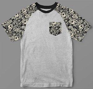 Camiseta - Casual - Skull in Bones