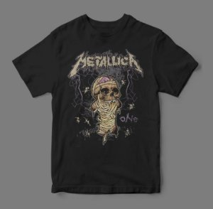 Camiseta Oficial - Metallica - One