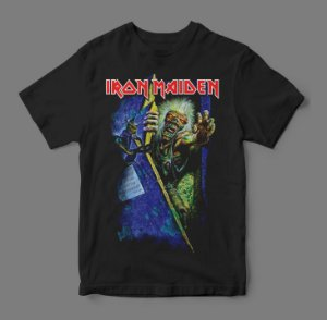 Camiseta Oficial - Iron Maiden - No Prayer for the Dying