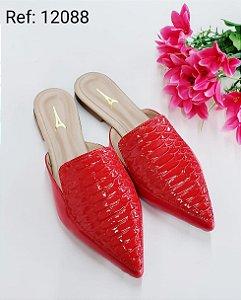 Mule Red Velvet