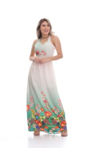 Vestido longo Clara Arruda costa detalhe 50238