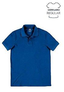 Camisa Polo Masc Malha Piquê 100% Algodão Mod Regular
