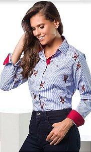 Camisa Feminina Manga Longa