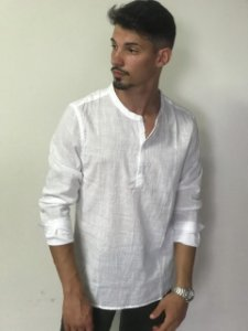 Camisa Bata Masculina