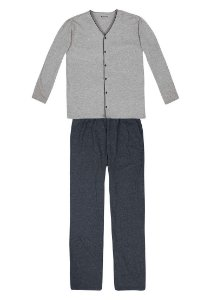 Pijama Masculino Com Peitilho Funcional