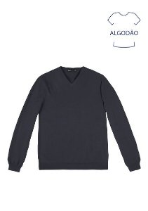 Blusão Em Tricot Masculino