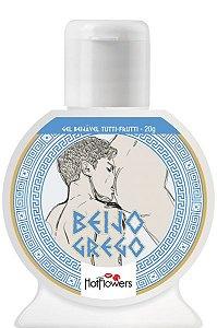 Gel Beijável Beijo Grego Tutti-Frutti Hot Flowers