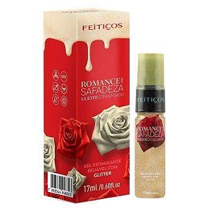 Romance com Safadeza e Leite Condensado Gel Estimulante Beijável - 17ml