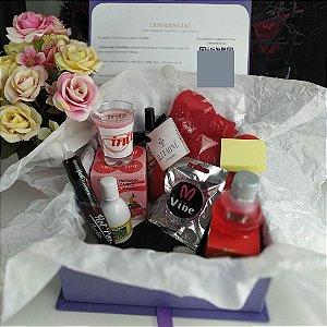 Caixa dos 5 Sentidos - Kit 2  (Kit Dia dos Namorados)