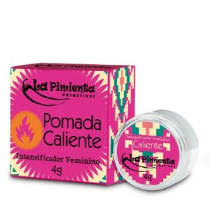 Pomada Funcional Intensificador Feminino Caliente 4G