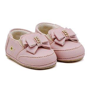 Sapato Feminino Infantil Santa Fé - Rosa Bebê