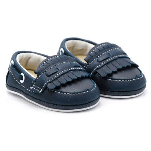 Sapato Masculino  Infantil Santa Fé - Azul Marinho