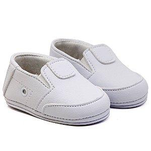 Sapato Infantil Unissex Santa Fé - Branco
