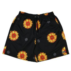 Short masculino Use Santa Fé Preto Com Girassol