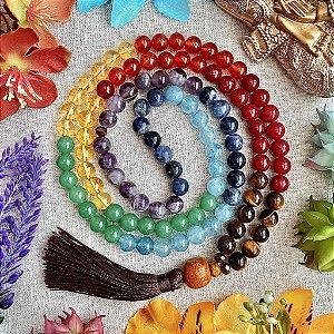Japamala 108 contas Poder dos Chakras