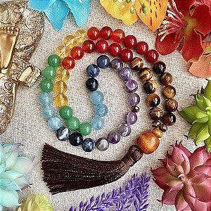 Japamala 54 contas Poder dos Chakras