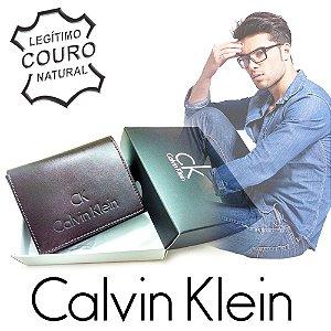 Carteira Calvin Klein Slim - 100% Couro
