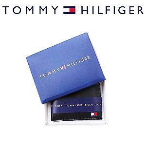 Carteira Tommy Hilfiger Slim - 100% Couro