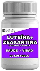 Luteína + Zeaxantina + Vitaminas e Minerais - 90 Softgels