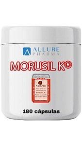 Morusil K™ 400mg (Selo de Autenticidade) 180 doses - Tratamento para 6 meses (Laranja Moro, redução de gordura abdominal)