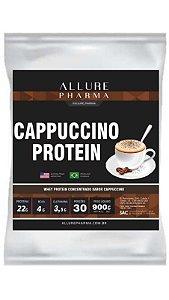 Refil Cappuccino Protein 900g (Whey Protein Concentrado) Proteínas e Aminoácidos