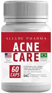 Acne Care - 60 cápsulas (Tratamento para Acne e Pele Oleosa) Sem efeitos colaterais