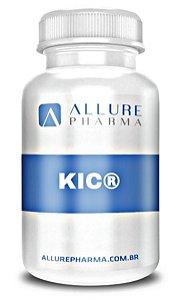 KIC® 100mg - 60 cápsulas - Potencializa absorção de aminoácidos. Ganho de massa muscular. Diminuição de dor pós treino.