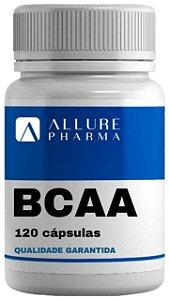 BCAA - 120 cápsulas * Aminoácidos. Desempenho Físico. Estimula Síntese Proteica *