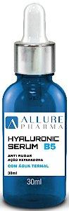 Sérum com Ácido Hialurônico - 30ml. Vitamina B5 D-Pantenol
