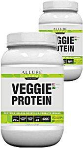 KIT 2 Potes Veggie Protein 900g (Proteína Isolada de Ervilha) Vegano